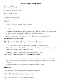 Assistant Curator Cover Letter Resume Template Directory