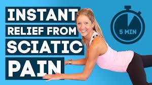 get rid of sciatic pain instant