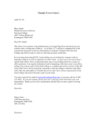 administrative assistant cover letter with experience 791x1024