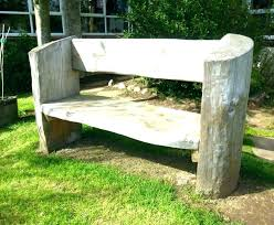 large outdoor bench wood chair plans size of free rustic garden wooden