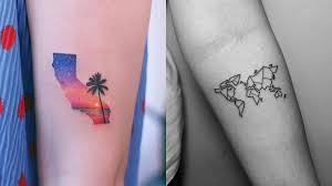 Adventure And Travel Tattoo Design Ideas