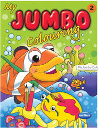 picture of vikas my jumbo colouring book 2