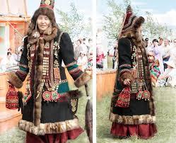Традиционный якутский костюм Википедия