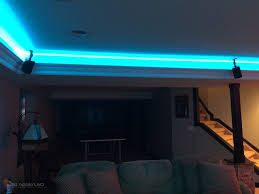 man cave lighting. Man Cave Game Room LED Lighting Contemporary-family-room A