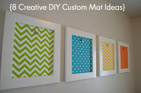 picture frame matting ideas | Creative DIY Custom Mat Ideas | | Sunlit  Spaces