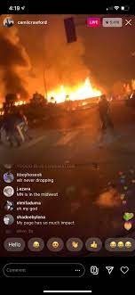 I was watching a livestream of the Minneapolis riots last night and mf's  was in there talking about wlr 💀 : playboicarti