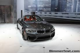 First Impressions of the 2015 BMW M4 Convertible in New York BMW ...