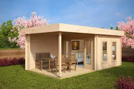 Contemporary Cabins Wooden Log Cabin Garden Log Cabins Uk