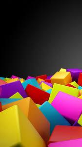 colorful rubik cubes iphone 6 plus hd wallpaper