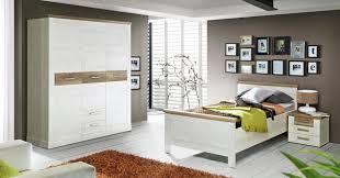 Schlafzimmer Set Duro 3 Tlg Optik Pinie Weiß Eiche Antik