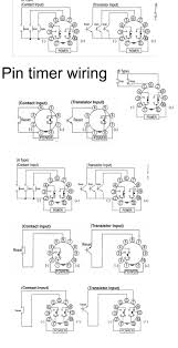 how to wire pin timers and relay base wiring diagram saleexpert me 8 pin relay base at 8 Pin Relay Wiring Diagram
