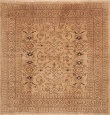 persian ardebil brown square 9 ft and larger wool carpet 11798 ardebil square area rug