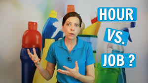 How To Price A House Cleaning Job Price By The Hour Or Job For House Cleaning Youtube