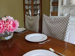 stylish dining room chair back cushions and no sew pillow case chair covers
