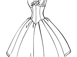 Dress Coloring Pages Free Coloring Pages Of Wedding Dresses Concept
