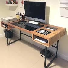 diy reception desk reception desk ideas industrial design desk with steel pipe legs and an embedded diy reception desk
