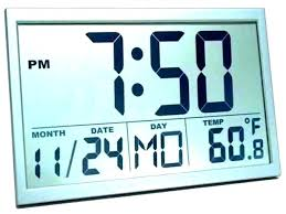 digital office wall clocks digital. Cool Digital Clocks Wall Battery Operated Office I