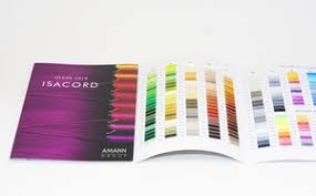 Isacord Color Chart Cc Isacord Real Thread Samples Color Card Chart 40wt 423 Solids 27 Variegated Uv Resistant
