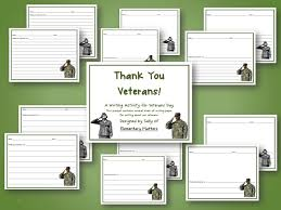 Classroom Freebies  Veterans Day Thank You Letters and Brain Breaks Here     s a Writing activity for Veteran     s Day  There are several options for paper types with and without space for illustrations
