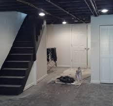 painted basement ceiling ideas. Paint Basement Ceiling Great Soundproofing A - Grezu : Home Interior Decoration Painted Ideas