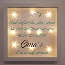Bilderrahmen Leuchtrahmen Lichtrahmen Bilderrahmen Oma Opa