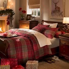 Dorma Red Balmoral Check Duvet Cover Set   Dunelm   Bed Linens ... & Dorma Red Balmoral Check Duvet Cover Set   Dunelm Adamdwight.com