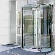 this is a photo of a crane series 4000 revolving door