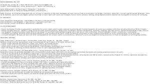 Plain Text Resume Template Executive Resume Template Do I Need A Plain Text Resume Career Story