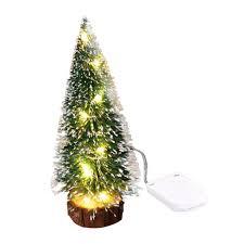 Desktop Christmas Lights Amazon Com Ssyuno Desktop Christmas Tree Artificial Mini