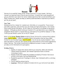 ResumeOne key to successfully finding career related experience is a good  resume. Writing aresume is