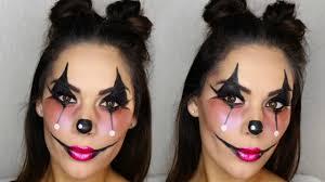 clown makeup look fun easy beauty s big sister you