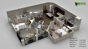 home office planning. 3d Floor Plan Visualization, BELGIUM Home Office Planning T