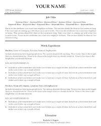 Good Resume Titles Mesmerizing Best Resume Titles Good Resume Titles For Customer Service A Title