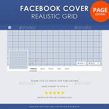 facebook timeline cover page realistic grid miscellaneous social a
