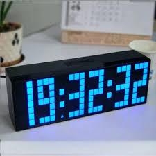 battery powered digital clocks clocks extraordinary battery operated wall clock battery powered led clock rectangle black