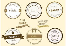 Free Vector Bakery Labels Download Free Vector Art Stock Graphics