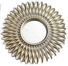 gold sunburst mirror. Kole Imports OS255 Gold Sunburst Circle Wall Mirror
