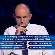 """Milionerzy"""": czym zasłynęła Pola Negri? Pytanie i odpowiedź - TVN24"""