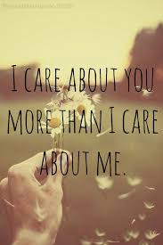 I Care About You Quotes Stunning I Care About You So Much On We Heart It