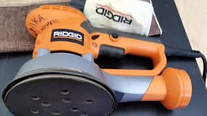 rigid palm sander. 6 inch ridgid random orbital palm sander review rigid
