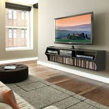 wall mounted entertainment shelves tv stands and entertainment centers tv stands and cabinets glass wall hung