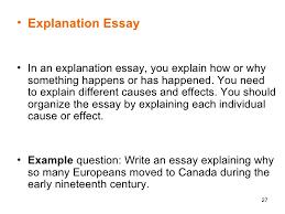 essay orgil  27 <ul><li>explanation essay