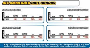 Afco Shock Chart Garage Sale Afco 19 Series Big Body Rebuildable Twin Tube