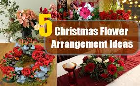 christmas flower arrangement ideas different types of bash corner christmas flower arrangements ideas34