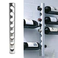 8 bottle wine rack new steel 8 bottle wine rack bar kitchen wall mounted berlyn 2