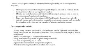 security guard resume pdf security guard resume sample no experience security guard cv word format security security objectives for resume