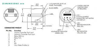 curtis 841r48bn110020 48v serial data display battery gauge hour meter curtis hour meter wiring diagram original curtis 841r48bn110020 48v serial data display battery gauge hour meter Curtis Hour Meter Wiring Diagram