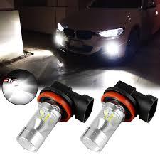 Bmw 535i Lights Super Bright White 100w Led Fog Light Bulb For Bmw 320i 328i