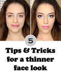 do you have a round face or simply just want to get the model look with a thinner face and doll eyes well you should know that with the right contour and
