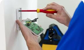 security installation. alarm installation security c